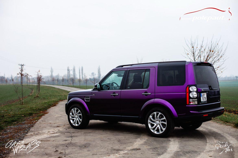 studio ales car wrap polep aut celopolep discovery land rover kpmf purple black (10)