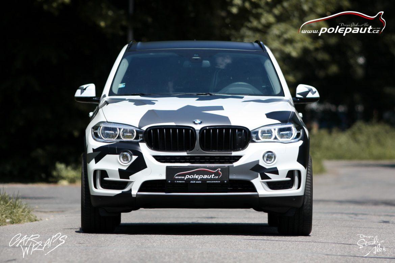 studio ales car wrap polep aut celopolep vinyl wrap bmw X5 camouflage and paint protection (2)