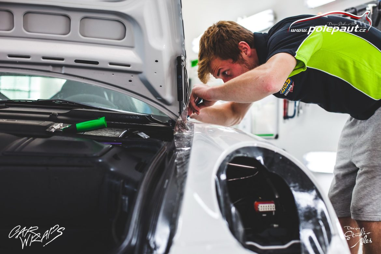 studio ales car wrap polep aut design polyuretan folie ochranna laku porsche GT3 suntek (14)