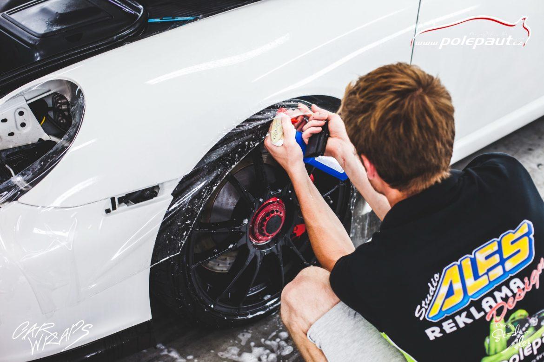 studio ales car wrap polep aut design polyuretan folie ochranna laku porsche GT3 suntek (15)