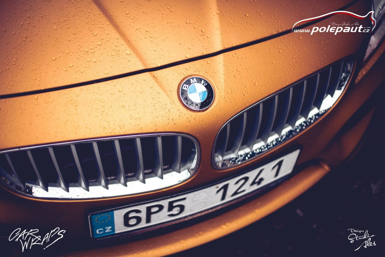 studio ales polep aut car wrap design bmw z4 avery blaze matt orange metallic (3)