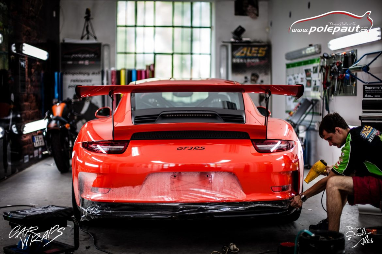 studio ales polep aut car wrap design stoneprotect porsche gt3 orange (3)