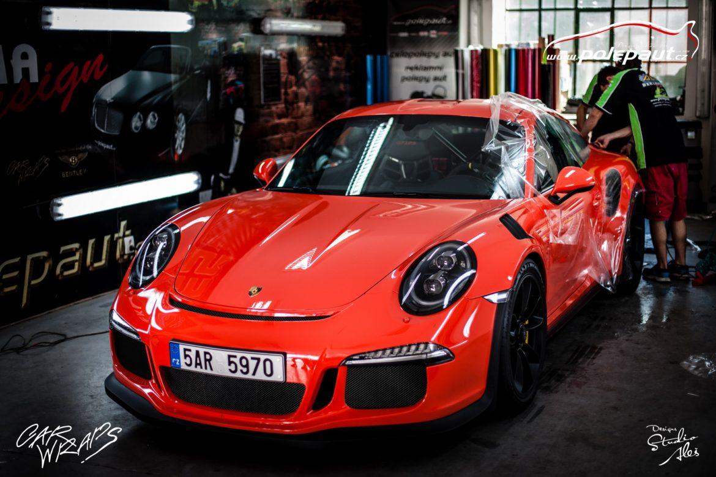 studio ales polep aut car wrap design stoneprotect porsche gt3 orange (8)