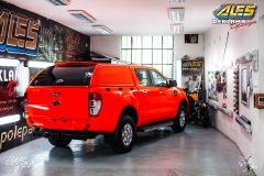 studio-ales-polep-aut-celopolep-hasici-fluorescentni-luminiscencni-fólie-RAL-3024-ford-ranger-5