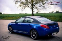 car-wrap-design-studio-ales-polep-aut-Peugeot-508-gt-Arlon-daytona-blue-and-brushed-black-5