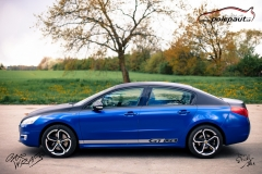 car-wrap-design-studio-ales-polep-aut-Peugeot-508-gt-Arlon-daytona-blue-and-brushed-black-6