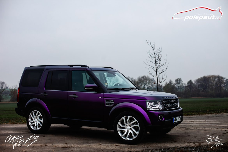 studio ales car wrap polep aut celopolep discovery land rover kpmf purple black (8)