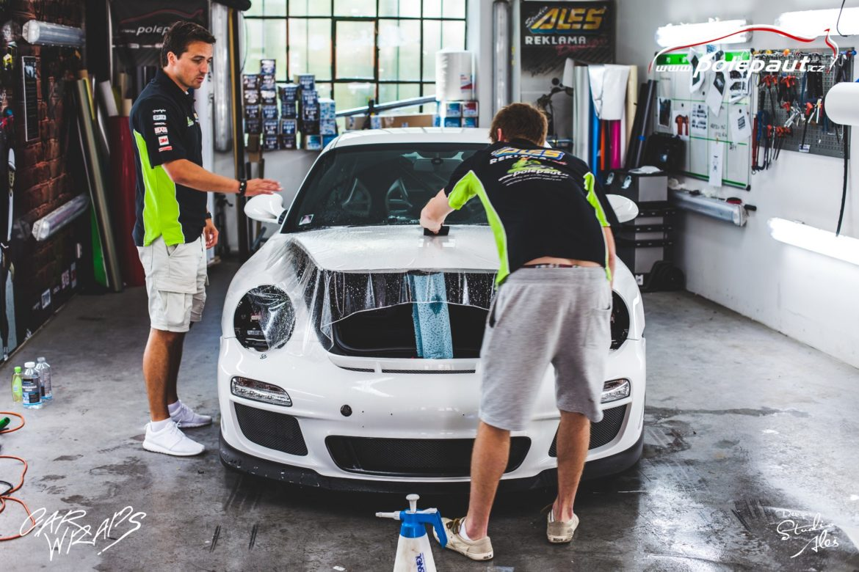 studio ales car wrap polep aut design polyuretan folie ochranna laku porsche GT3 suntek (3)