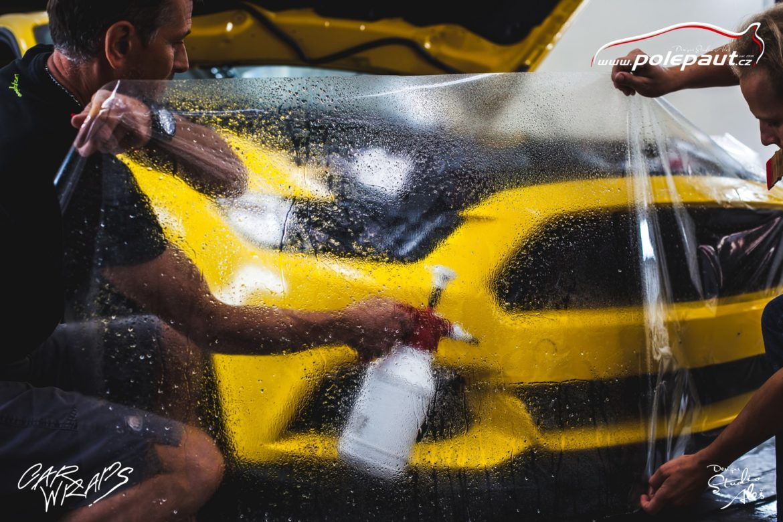 studio ales car wrap polep aut design stoneprotect ochranná folie laku ochrana laku mustang (2)
