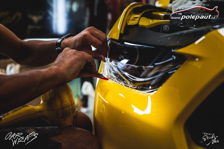studio ales car wrap polep aut design stoneprotect ochranná folie laku ochrana laku mustang (3)